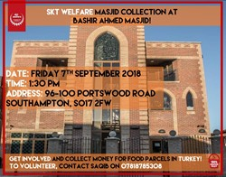 SKT Welfare Collection Friday 7th September