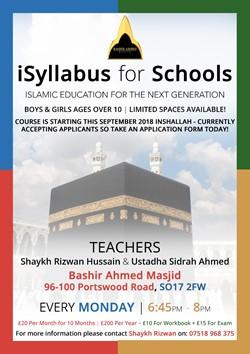 New iSyllabus Madrassa Course
